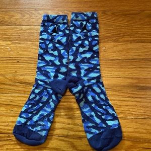 Tri-Color Tie-Dye Jordan Basketball Socks